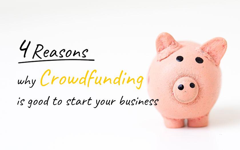 資金調達にクラウドファンディングを利用するべき4つのメリット