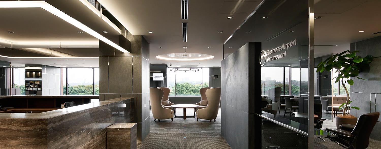 ビジネスエアポート丸の内 内装&フロントスペース