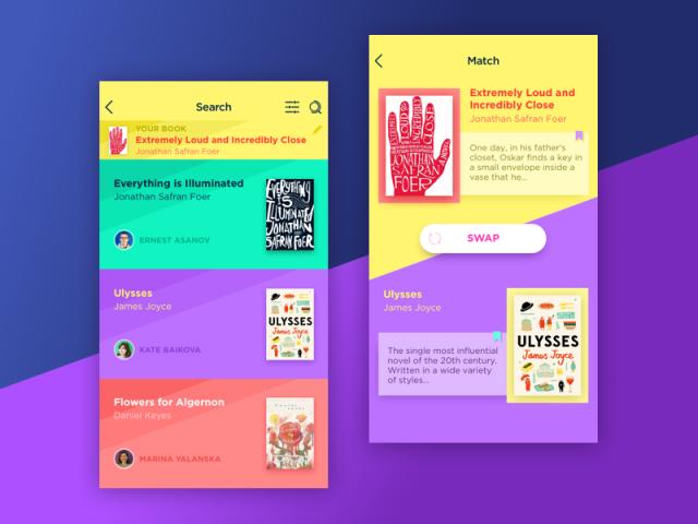 Book Swapアプリ