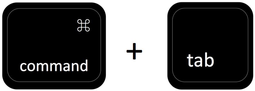 command plus tab