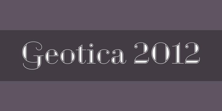 GEOTICA 2012