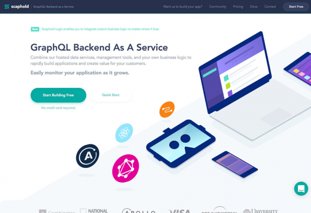 Scaphold   GraphQL Backend as a Service