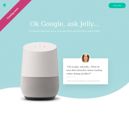 Jelly — Google Home