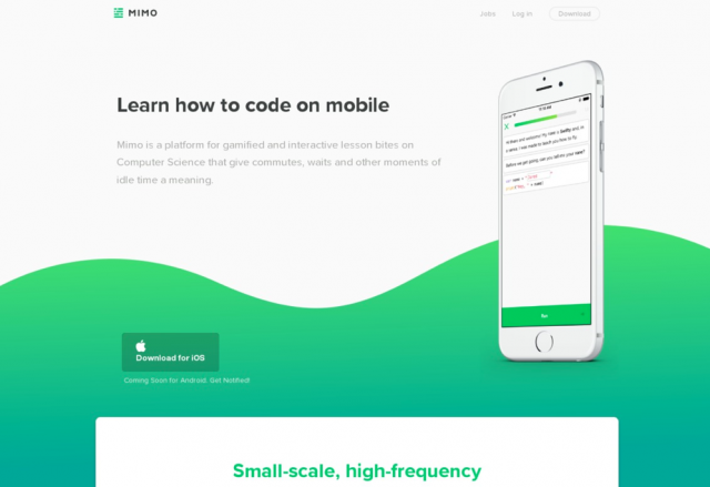 Mimo — Learn how to code on your phone