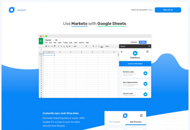 Gasket—Connect your Sheets