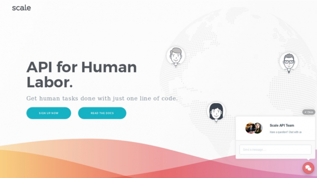 Scale — API For Human Labor