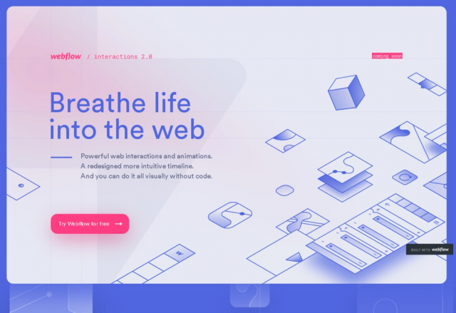 Webflow Interactions 2.0