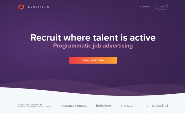 Recruitz.io | Next-gen job advertising