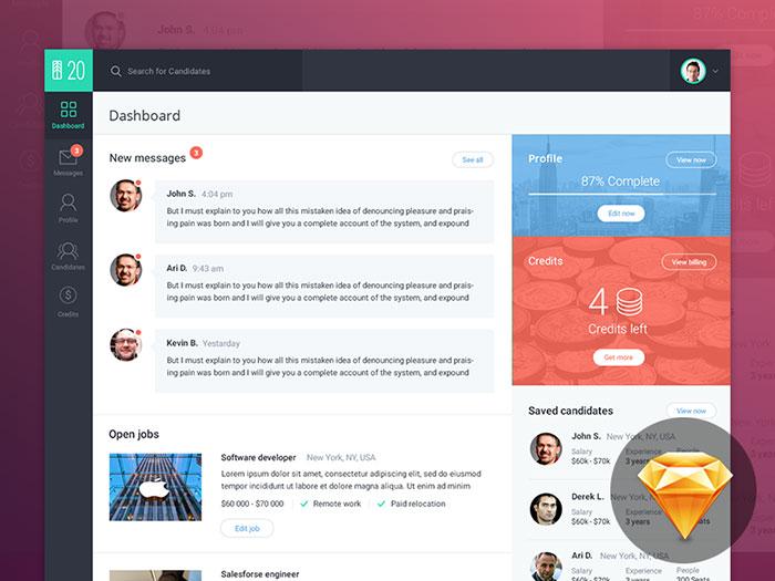Recruiting Platform Dashboard