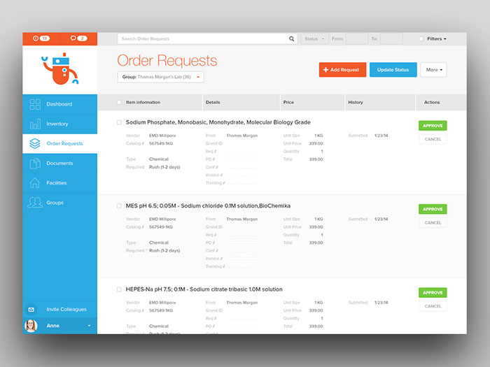 Order Requests