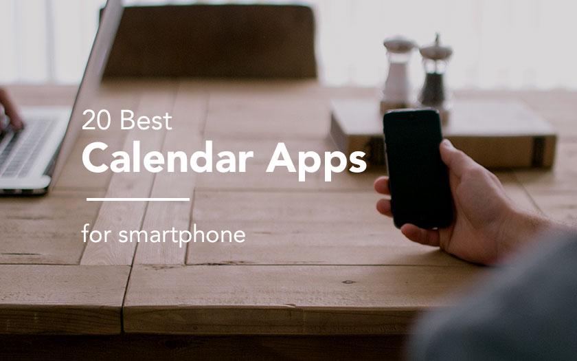 スマホでのスケジュール管理をはじめたい人向けカレンダーアプリ20選