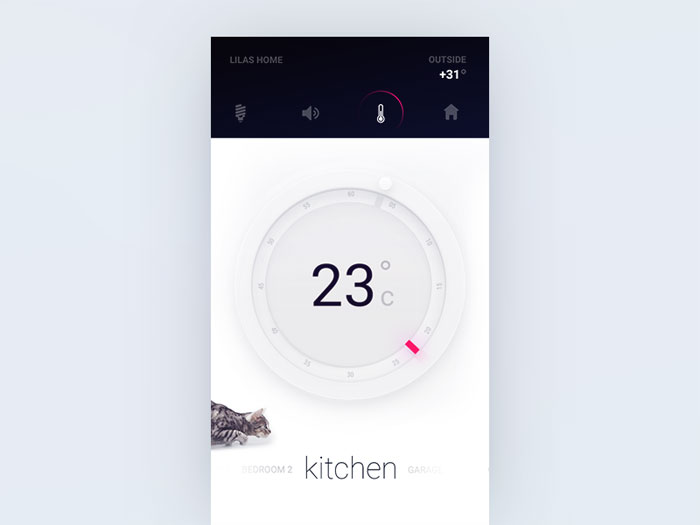 Thermostat for Smart Home product