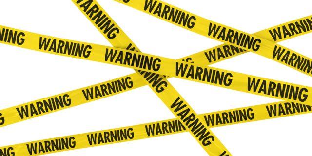 警告 注意喚起 バリケードテープ