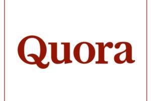 実名で回答が返ってくる!実名制Q&Aサイト『Quora』とは?