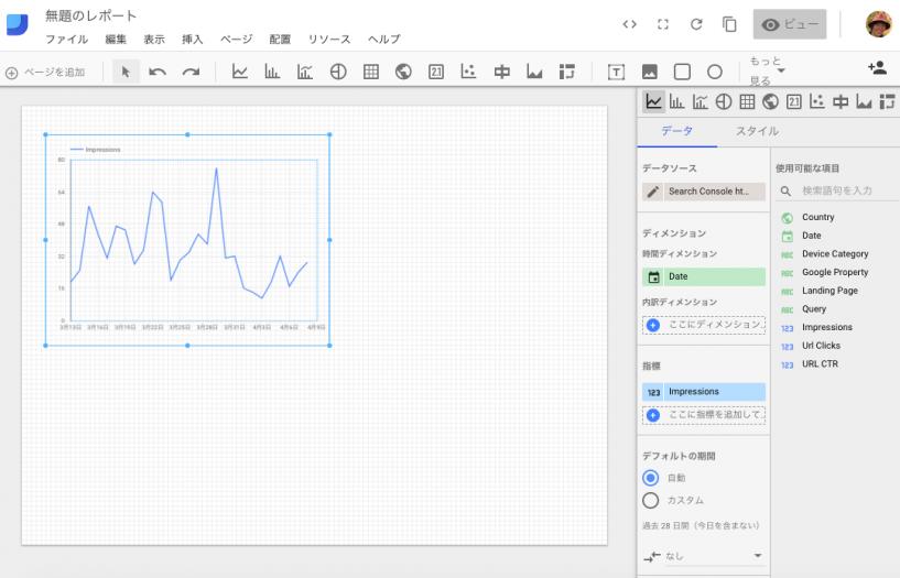 データグラフを作成する2