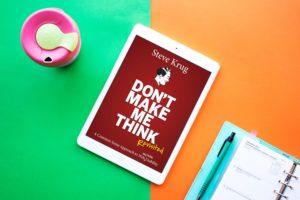 スティーブ・クラッグ著『Don't Make Me Think』20のキーフレーズに学ぶユーザビリティのすすめ