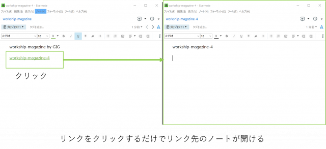 Evernoteのハイパーリンクを使えば整理も簡単になる!