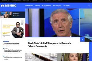 見やすいWebメディアの特徴とは?米・報道ネットワーク「NBC」のリニューアルデザインを考察!