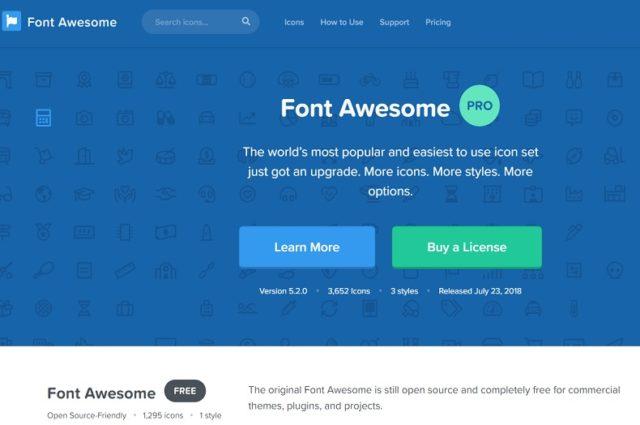 味気ないデザインを華やかに変える!FontAwesome5とは?