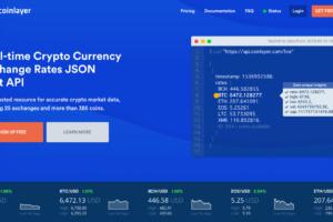 『coinlayer』APIを用いて暗号通貨の両替レートを生成しよう!
